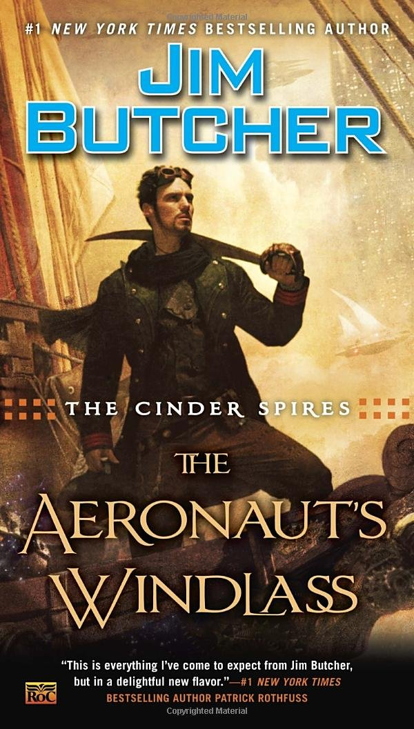 Jim Butcher Aeronaut's Windlass