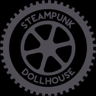 steampunk dollhouse podcast logo
