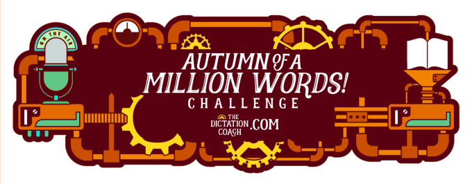 Autumn of a Million Words Challenge Logo B