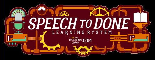 Speech to Done Logo A